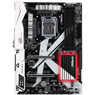 Placa-Mãe ASRock Z270 Killer SLI/BR, Intel LGA 1151, ATX, DDR4
