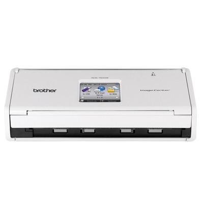 Scanner de Mesa Brother 600 dpi Color, Duplex, Display TouchScreen, Rede Wireless - ADS1500W