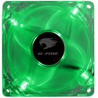 Cooler Fan G-Fire 8cm com LED Verde EW0408N