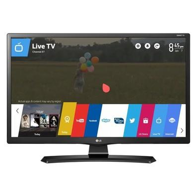 Smart TV Monitor LG 24´ HD Conversor Digital Wi-Fi integrado USB 2 HDMI WebOS 3.5 Screen Share 24MT49S-PS