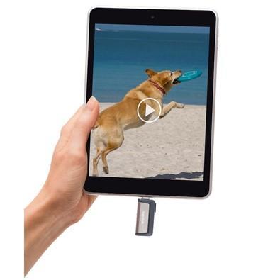Pen Drive SanDisk p/ Smartphone Ultra Dual Drive USB Type C / USB 3.0 64GB - SDDDC2-064G-G46