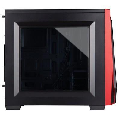 Gabinete Corsair Carbide Series SPEC-04 Mid Tower CC-9011107-WW Preto e Vermelho