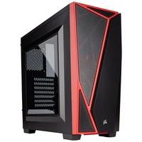 Gabinete Corsair Carbide Series SPEC-04 Mid Tower CC-9011107-WW Preto e Vermelho