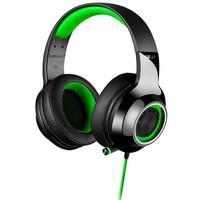 Headphone Gamer 7.1 EDIFIER G4 Over-Ear Preto e Verde