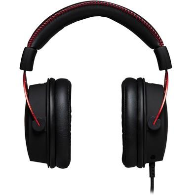 Headset Gamer HyperX Cloud Alpha - HX-HSCA-RD