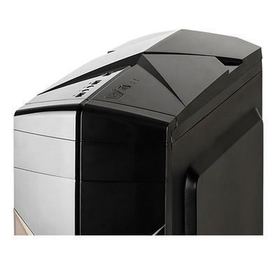 Gabinete C3Tech Full-ATX sem Fonte Lateral em Acrílico MT-G300BK