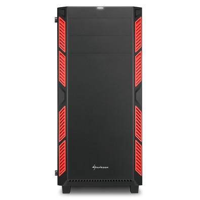 Gabinete ATX Sharkoon com Vidro Temperado Red - AI7000