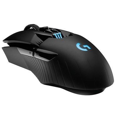 Mouse Sem Fio Gamer Logitech G903 Recarregável, RGB Lightsync, Design Ambidestro, 11 Botões, 12000DPI - 910-005086