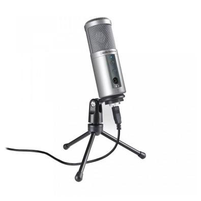 Microfone Condensador Audio-Technica ATR2500-USB