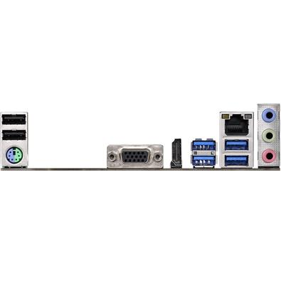 Placa-Mãe ASRock A320M-HD, AMD AM4, mATX, DDR4