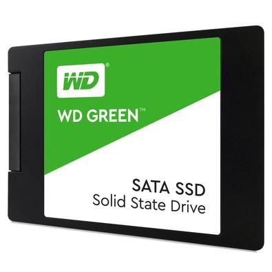 SSD WD Green 2.5´ 120GB SATA III 6Gb/s Leituras: 545MB/s e Gravações: 430MB/s - WDS120G2G0A