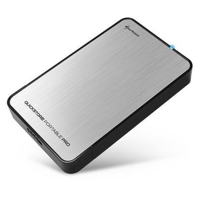 Case Sharkoon p/ HD 2.5´ Pro U3 USB 3.0 - Prata