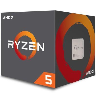 Processador AMD Ryzen 5 2600, Cooler Wraith Stealth, Cache 19MB, 3.4GHz (3.9GHz Max Turbo), AM4, Sem Vídeo - YD2600BBAFBOX