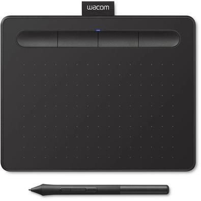 Mesa Digitalizadora Wacom Intuos, Resolução 2540 lpi, Níveis de pressão 4096, Pequena, Preto - CTL4100