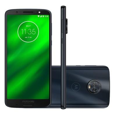 Smartphone Motorola Moto G6 Plus, 64GB, 12MP, Tela 5.9´, Indigo - XT1926