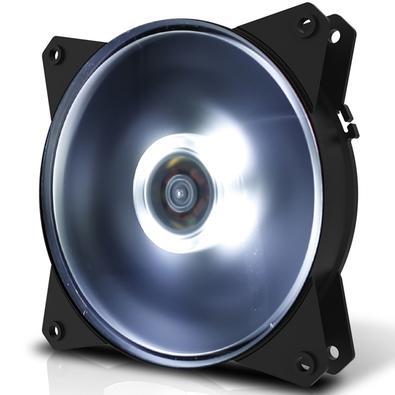 Cooler FAN Cooler Master MasterFan MF120L Branco - R4-C1DS-12FW-R1