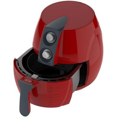Fritadeira Cadence FRT541 Colors Sem Óleo Vermelha 220V