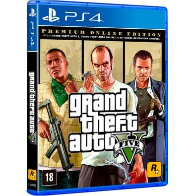 Game GTA V Premium Online Edition PS4