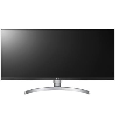 Monitor Gamer LG LED 34´ Ultrawide, Full HD, IPS, HDMI/Display Port, FreeSync, Som Integrado, Altura Ajustável - 34WK650-W