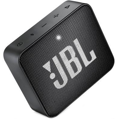 Caixa de Som JBL Go 2, Bluetooth, À Prova D´Água, 3.1W, Preta - JBLGO2BLK