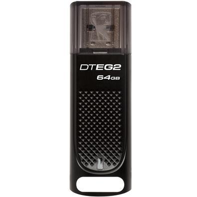 Pen Drive Kingston DataTraveler USB 3.1 Elite G2 64GB - DTEG2/64GB