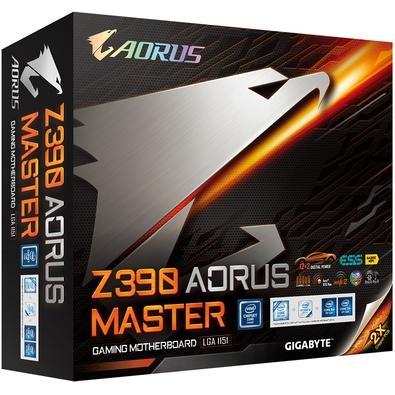 Placa-Mãe Gigabyte Z390 Aorus Master, Intel LGA 1151, ATX, DDR4