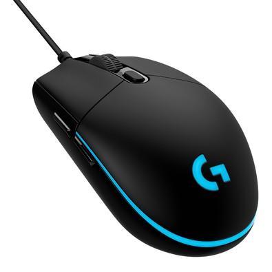 Mouse Gamer Logitech G PRO HERO 16K RGB Lightsync 16000DPI - 910-005536