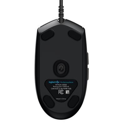 Mouse Gamer Logitech G PRO Hero 16K, RGB Lightsync, 6 Botões, 16000 DPI - 910-005536