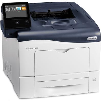 Impressora Xerox, Colorida, A4, USB, Rede, WiFi, 110V - Versalink C400