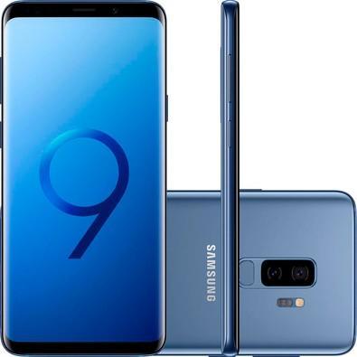 0423b7e03 KaBuM! - Smartphone Samsung Galaxy S9+ 128GB, 12MP, Tela 6.2´, Azul ...