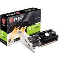 Placa de Vídeo MSI NVIDIA GeForce GT 1030 2GD4 LP OC 2GB, DDR4 - 912-V809-2826