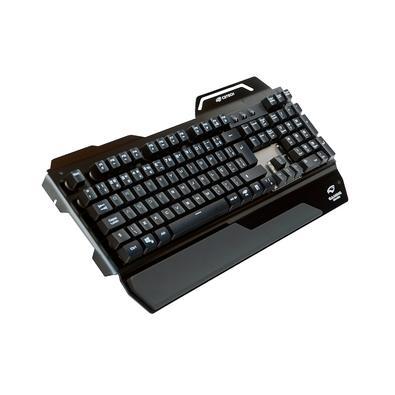 Teclado Gamer C3 Tech RGB, Switch Outemu Blue, ABNT2 - KGM-500BK