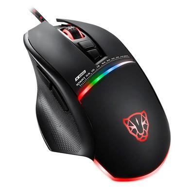 Mouse Gamer Motospeed V10, RGB, 4000 DPI, Preto - FMSMS0001PTO