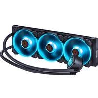WaterCooler PCYes Nix RGB 360mm, 3 Fans, Preto - PWC360H40PTRGB