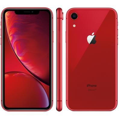 IPHONE XR VERMELHO, 128GB - MRYE2
