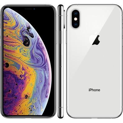 iPhone XS Prata, 64GB - MT9F2
