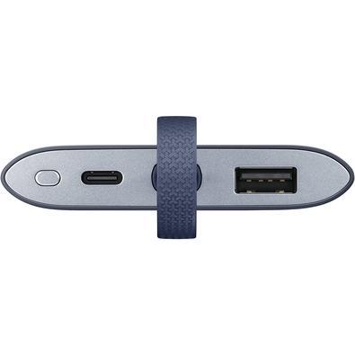 Carregador Portátil Samsung, 5100mAh, Fast Charge, Azul Marinho - EB-PG950CNPGBR