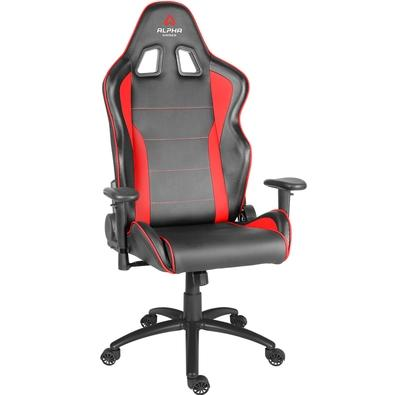Cadeira Gamer Alpha Gamer Pollux Black Red