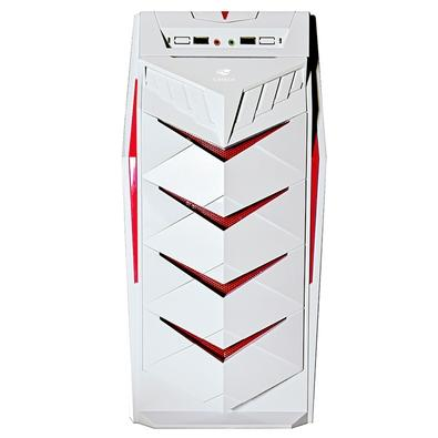 Gabinete Gamer C3 Tech sem Fonte, Mid Tower, Branco - MT-G70WH