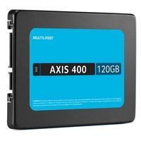 SSD Multilaser 2.5´ 120GB SATA III Leituras: 400MB/s e Gravações: 400MB/s - SS101
