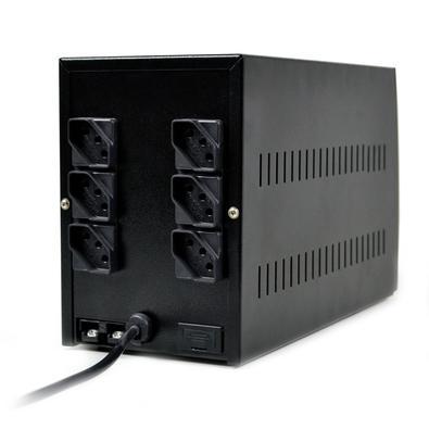 Nobreak TS Shara UPS Compact Pro 1200VA, 6 Tomadas, Bivolt - 4429