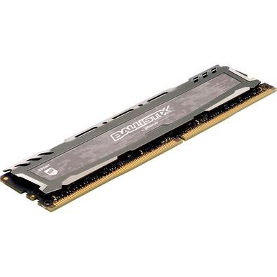 Memória Crucial Ballistix Sport LT, 8GB, 2400MHz, DDR4, Cinza - BLS8G4D240FSBK