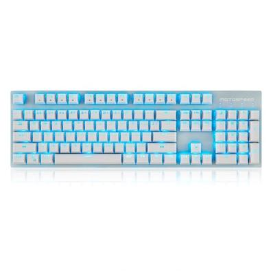 Teclado Sem Fio Mecânico Gamer Motospeed GK89, LED Azul, Wireless, Switch Outemu Brown, US, Branco - FMSTC0032MRM