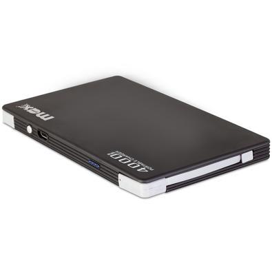 Carregador Portátil Maxprint Power Bank Pocket, 4000mAh, Preto - 6012876