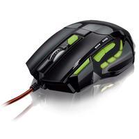 Mouse Óptico Xgamer Multilaser Fire Buttonusb 2400dpi- Mo208