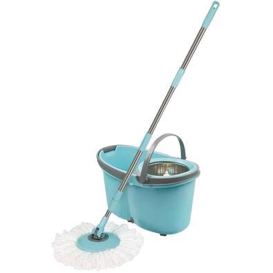 Esfregão Mop com Rodinhas Limpeza Prática Mor