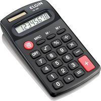 Calculadora De Bolso Solar E Pilha - Blister Cb1485 Preta