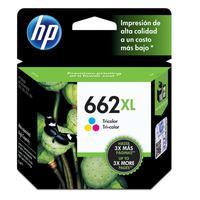 Cartucho de Tinta HP 662XL CZ106AB Tricolor 8,0 ML