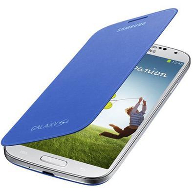 Capa p/ Samsung Galaxy S4 Samsung Flip Cover Azul Claro EF-FI950BCEGWW