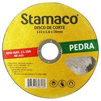 Disco De Corte Pedra 115x 1.6x 20mm Stamaco 115mm